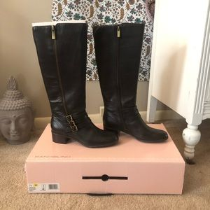 Dark Brown Ladies knee high boots